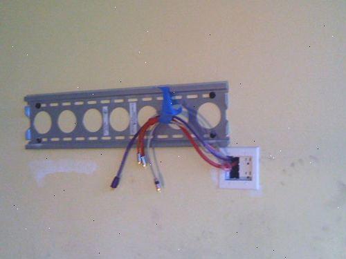 dra kabel genom rör